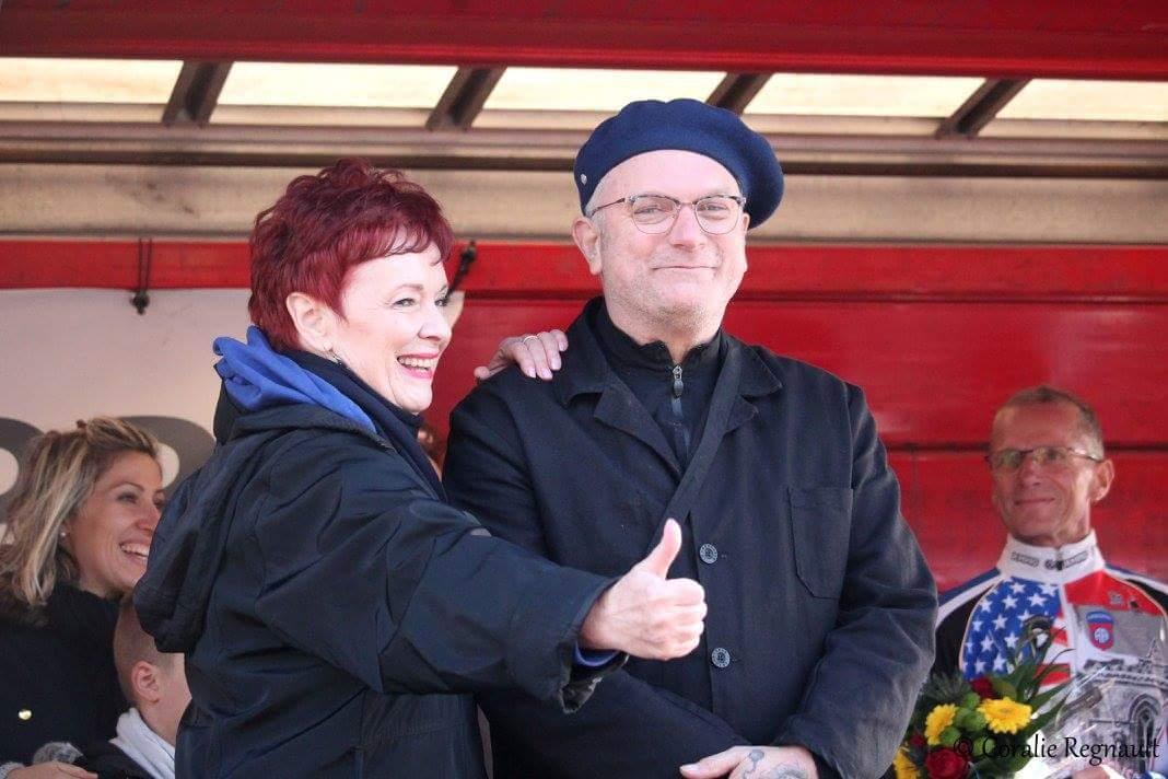 Le Maire de Quinéville et Fabienne THIBEAULT