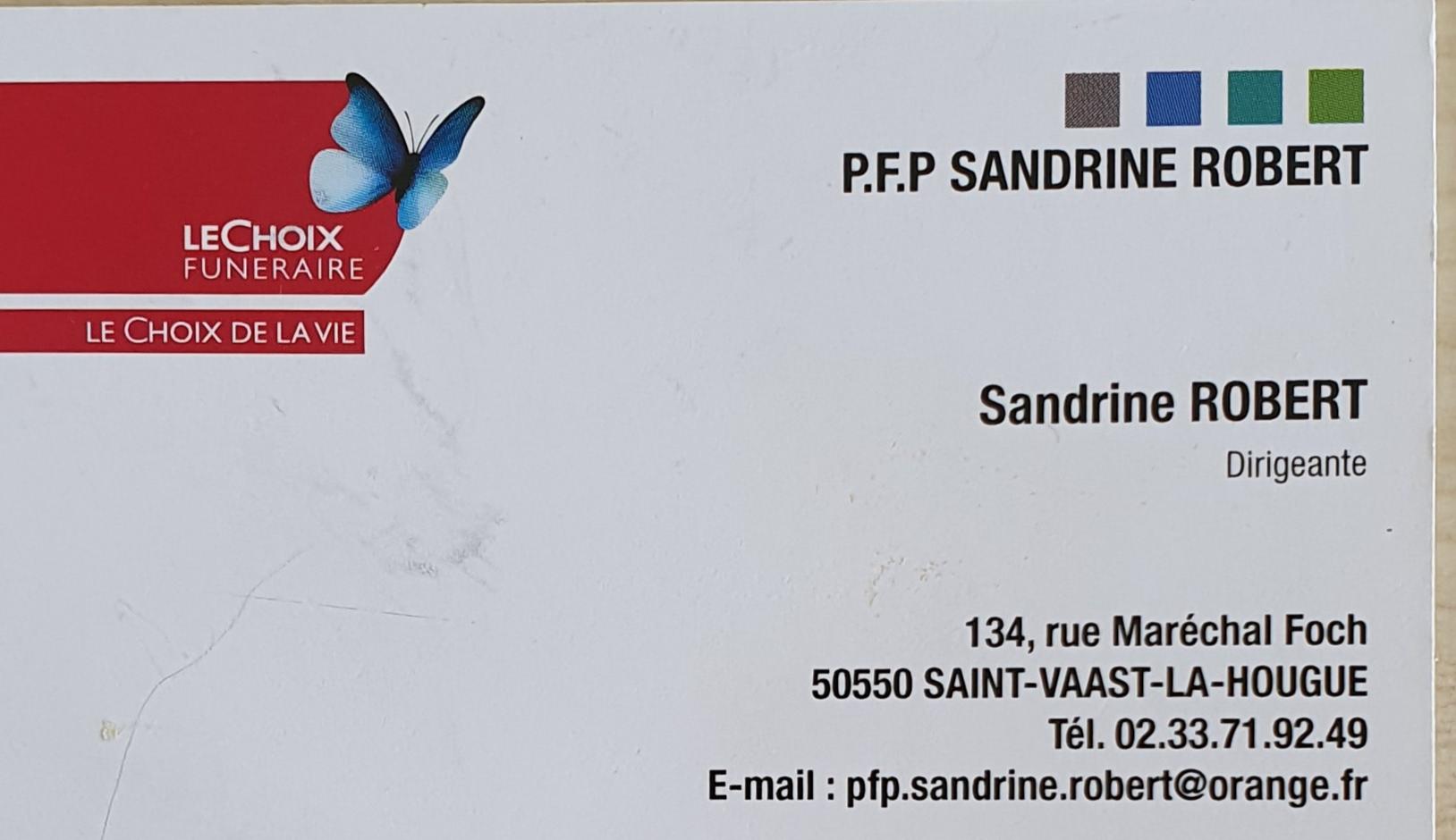 P.F.P. Sandrine Robert